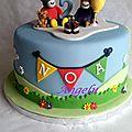 Gâteau trotro, nana et doudou