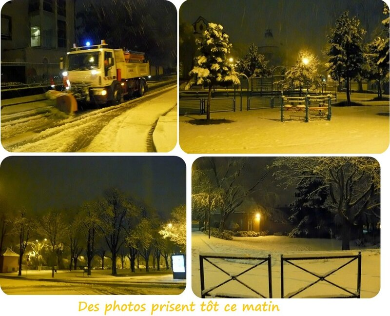 Quartier Drouot - Photos neige