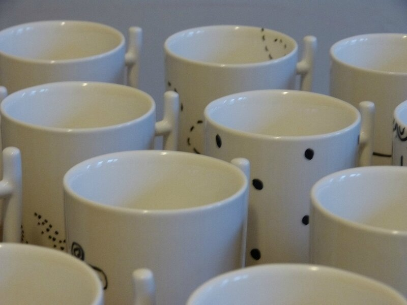 tasse peinture porcelaine 2