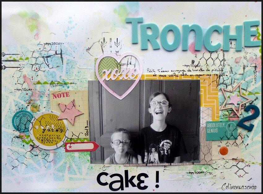 Tronches de cake