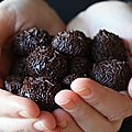 Truffes bresiliennes au lait concentre sucre (brigadeiros)