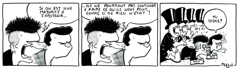 abstention (strip) - Bésot