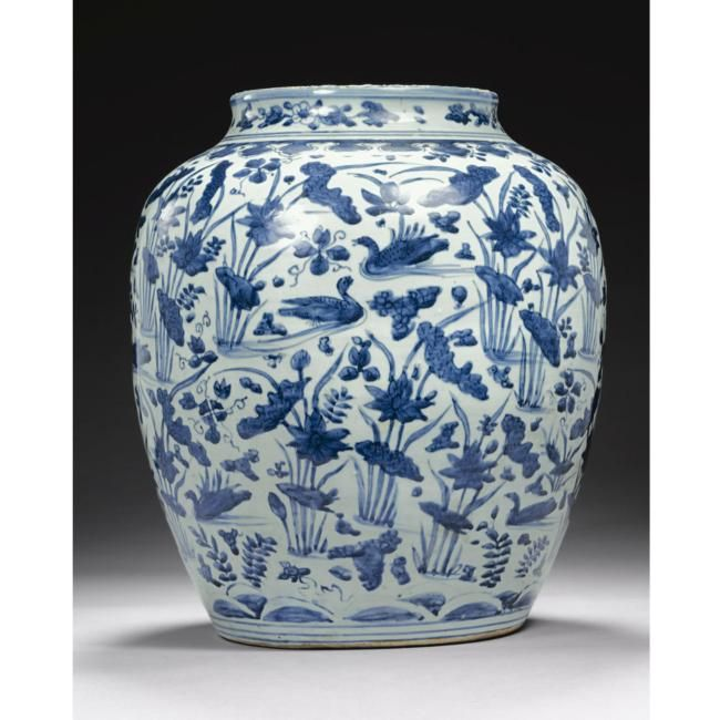 Important Ming Blue And White Porcelains Sold Sotheby S