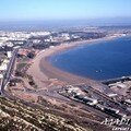 AGADIR vu depuis les ruines de la vieille ville
