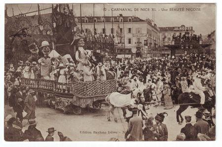 06 - NICE - Carnaval - 1912
