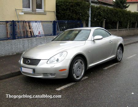 Lexus SC430 coupé (Illkirch) 01