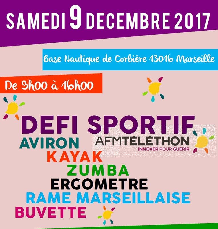 DEFI SPORTIF-AFM TELETHON - CONVOCATION Pour le 9 Décembre 2017