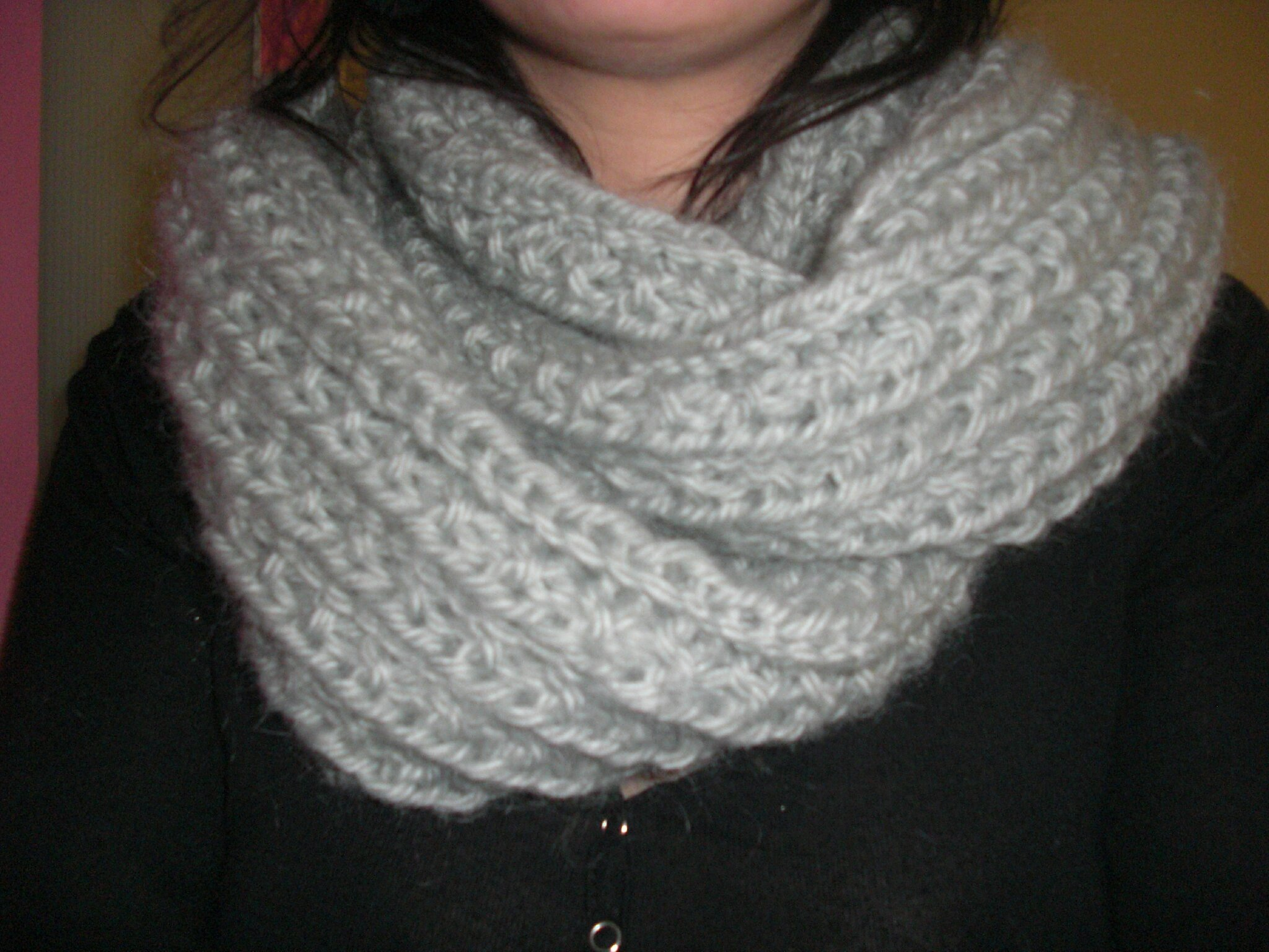 modele snood tricotin