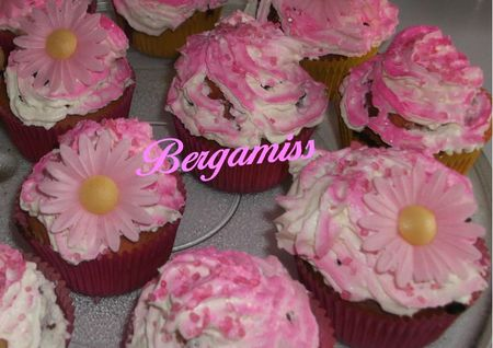 Cupcake litchis