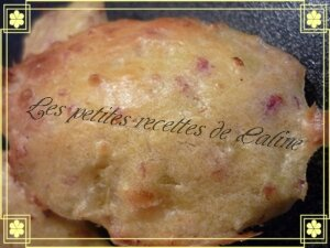 madeleines au bacon et aux oignons