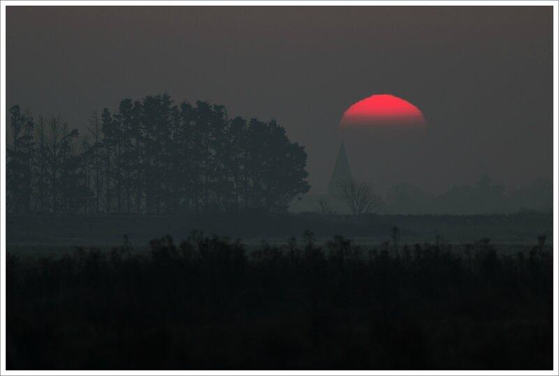 Aiguillon soleil levant 2 230115