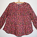 Blouse smocke little girl 3