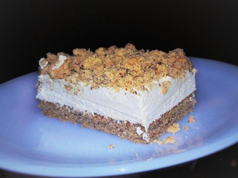 Part café gourmand - biscuit café crème mousseline chocolat blanc café