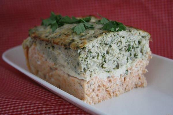Mousse de saumon et empereur aux herbes (une terrine facile et délicieuse)
