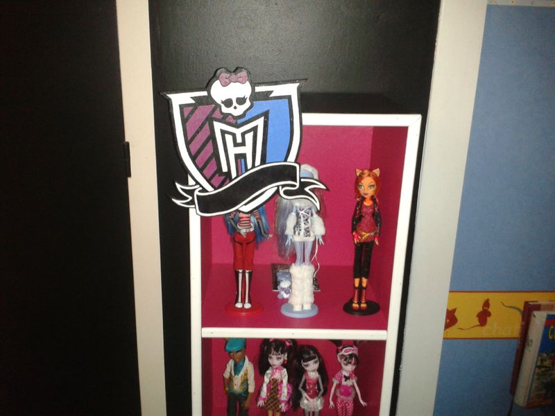 Tag re monster high style chris deco - Deco chambre monster high ...