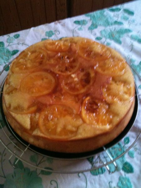 gateau a l'orange