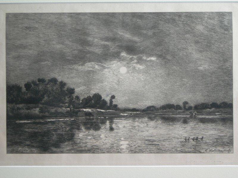 Lalanne, Maxime, d'après Daubigny, Bords de l'Oise