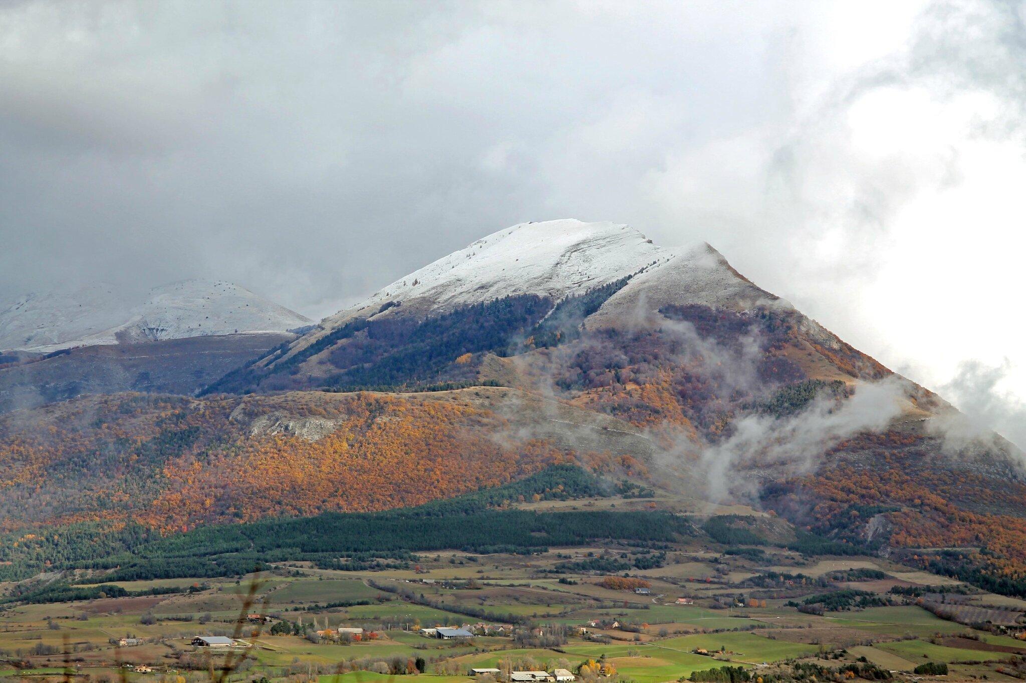 Photos du jour: Dimanche 16 novembre 2014 entre Gap, Céuse et le massif de Bure