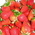 Eau de fraises