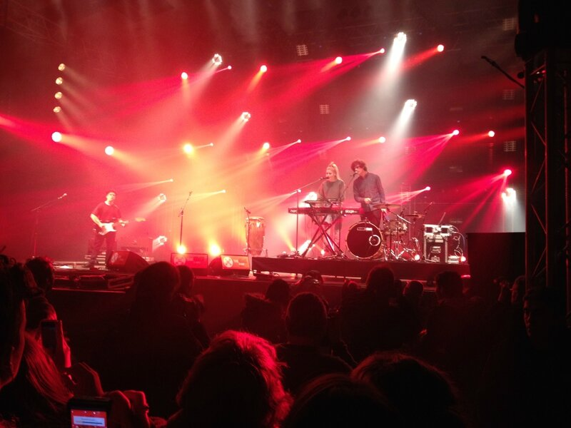 London Grammar Rencontres Trans Musicales Rennes 2013
