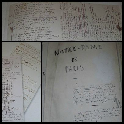 manuscrits Victor Hugo
