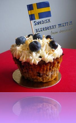 swedish bluebberries muffins