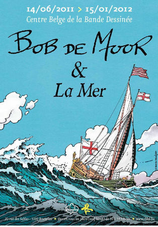 Affiche Bob De Moor _expo