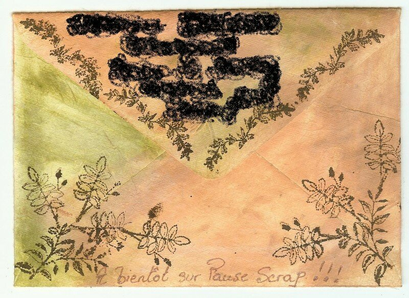 Mail art automnal (verso)