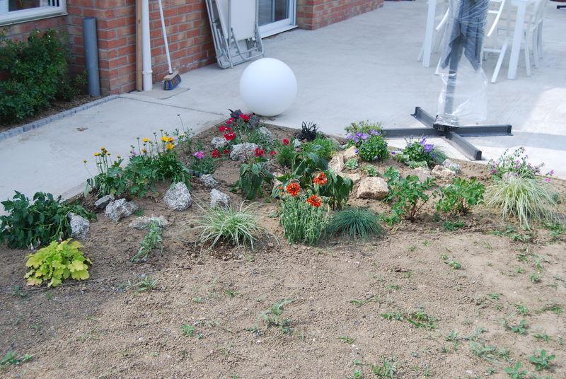 Photo parterre rocaille free jardin de rocaille et dco en for Parterre rocaille