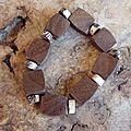 Bracelet Bois exotique