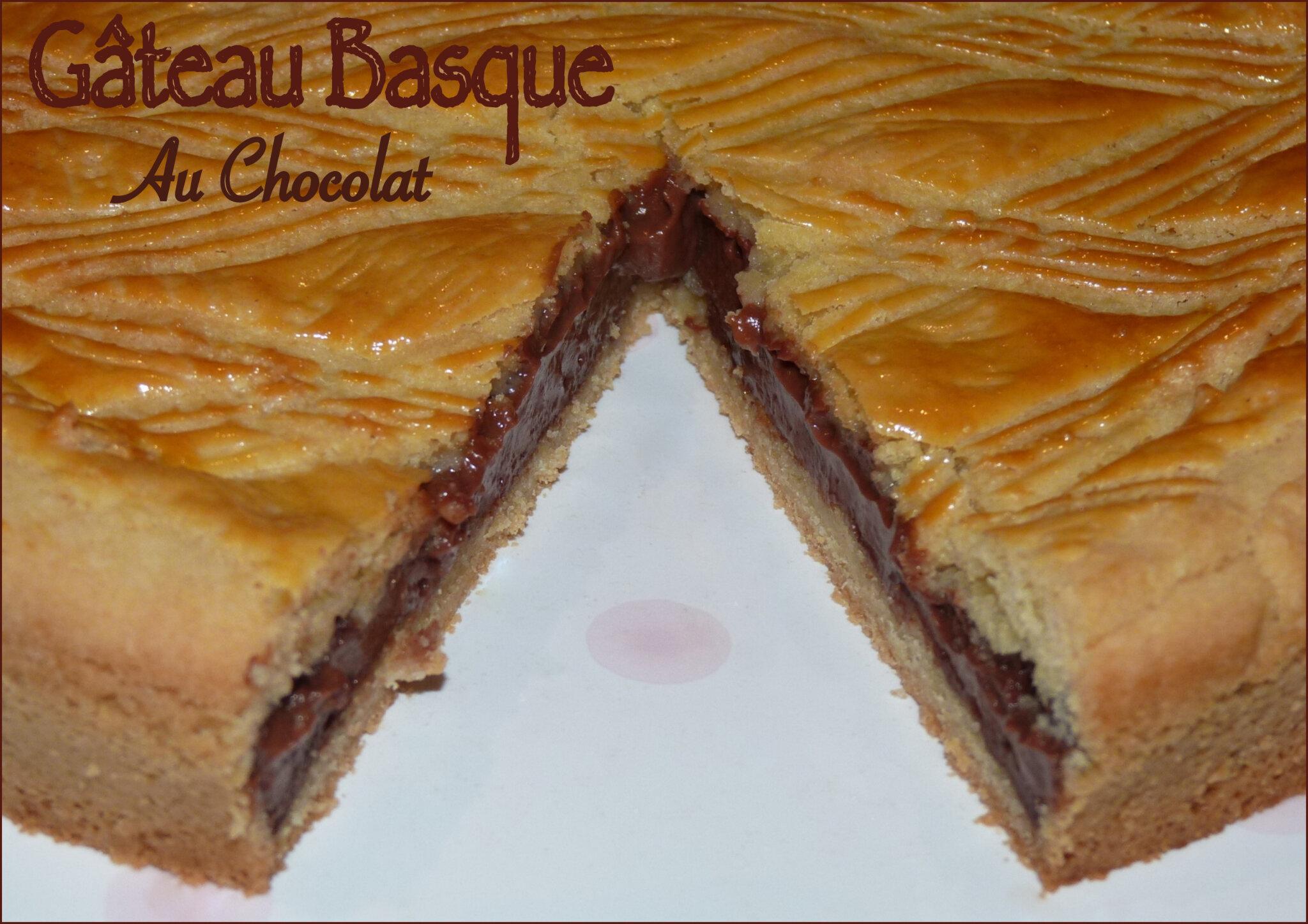 Recette gateau basque tout chocolat