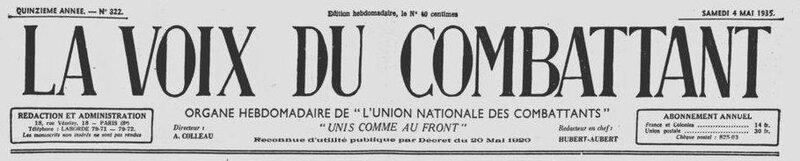 La voix du Combattant 4 mai 1935_1