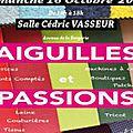 Salon aiguilles et passions 2016 à steenvoorde (59)