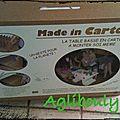 {j'ai testé} kit table en carton