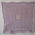 Couverture Granny au crochet