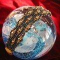 Bracelet serpentine doré