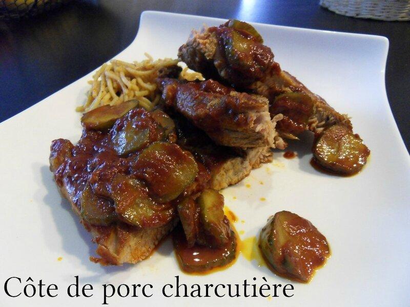 cote de porc charcutiere1