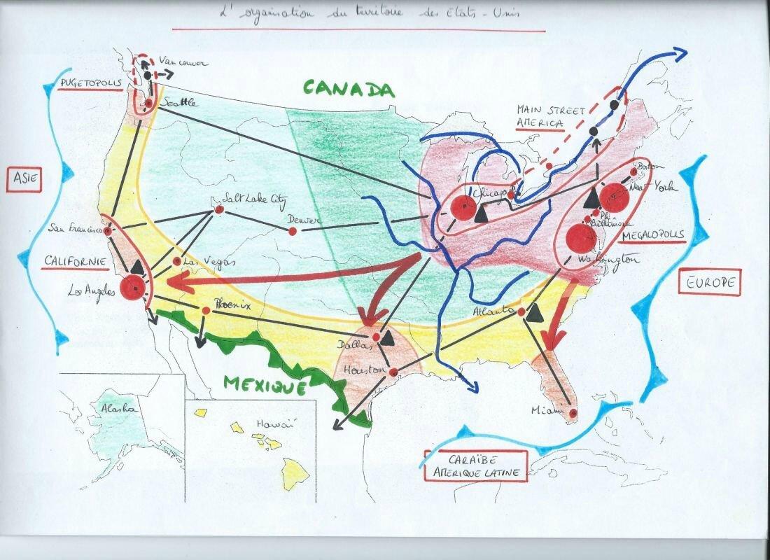 dynamiques territoriales états unis brésil
