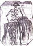 04 TELLA Mort de Lorca étude 31,3 x 22,8