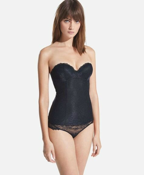 Body Corset Push Up OYSHO vue de face