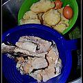 cuisson des ingrédients pour bacalhau a gomes de sa
