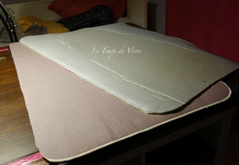 Am nager son atelier 4 coudre sa nappe de repassage for Une nappe de table