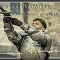 La légende du roi arthur et des chevaliers de la table ronde (playlist et liens)