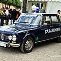 Alfa romeo giulia 1300 super carabonieri (9ème Classic Gala de Schwetzingen 2011) 01