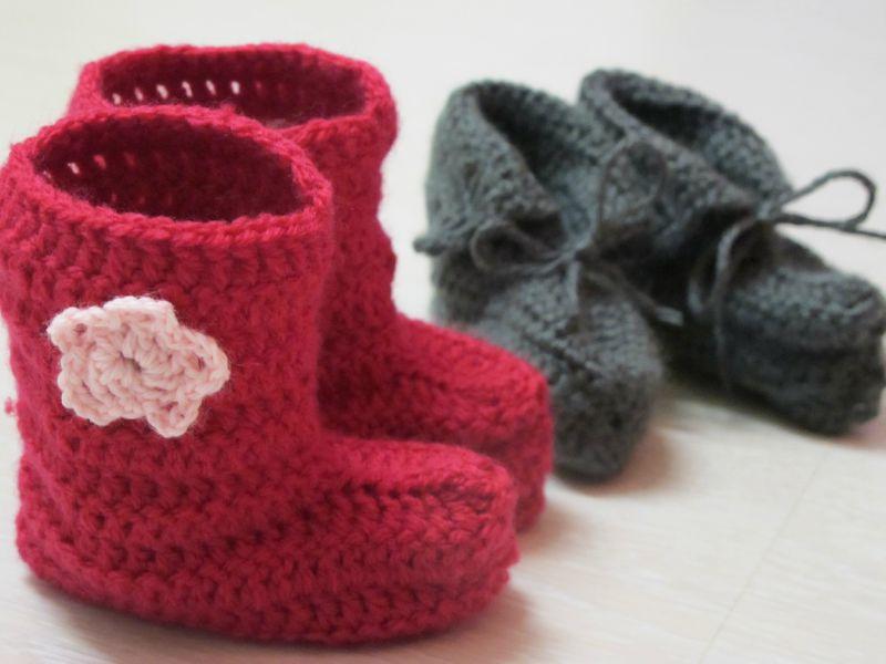 Bottines et chaussons