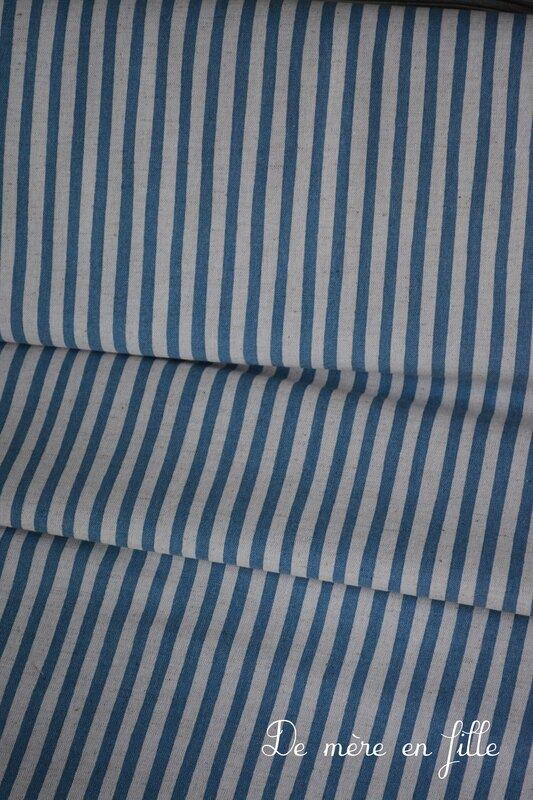 lignes bleues