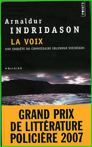 La voix de Arnaldur Indridason