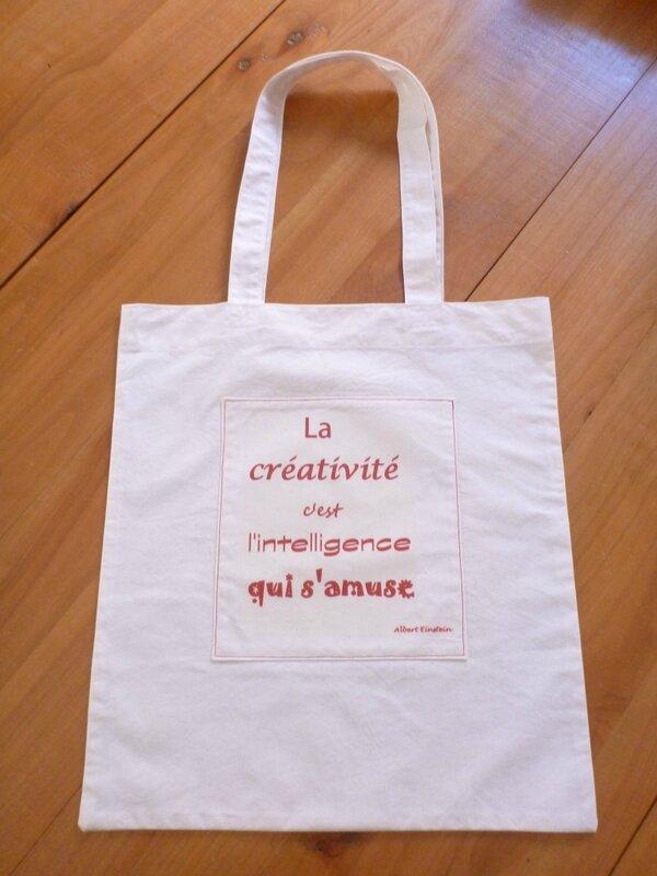 Tote bag Créativité (1)
