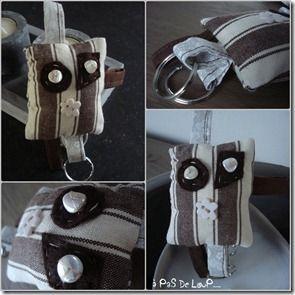 porte clefs chocolat