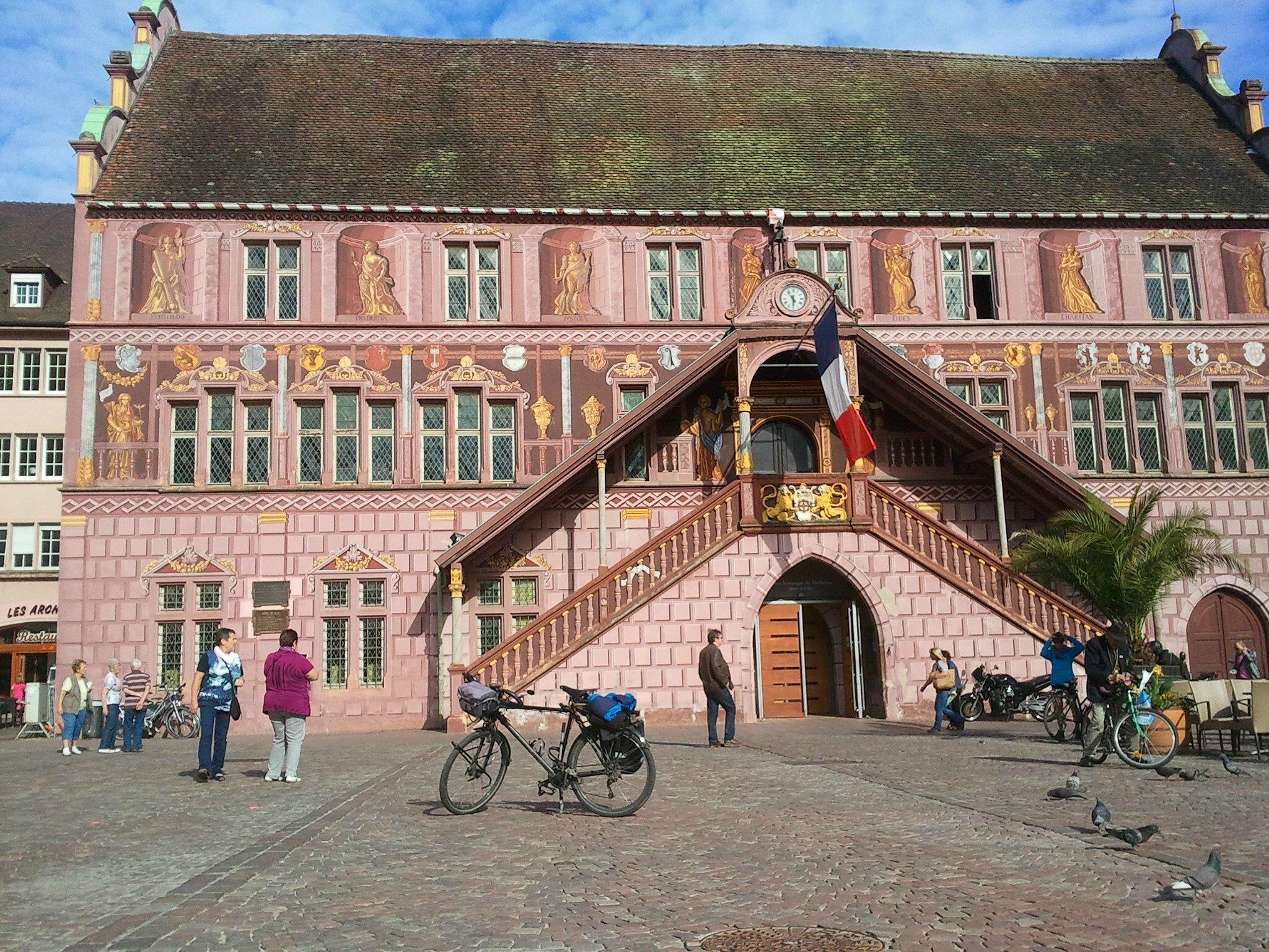 28-29 mai : Un court passage en Alsace et un mauvais souvenir